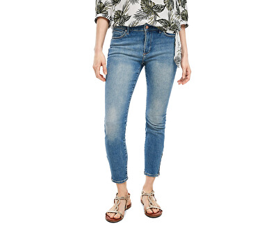 Dámske skinny fit džínsy 14.003.72.3514.56Z6 Blue heavy stone w