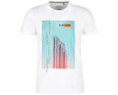 Pánské triko 13.003.32.4738.0100 White