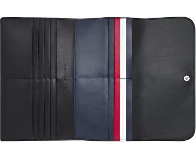 Női pénztárca Th Core Large Flap Wallet AW0AW08493BDS