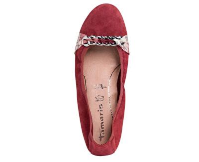 Ballerine da donna 1-1-22104-24-523 Ruby
