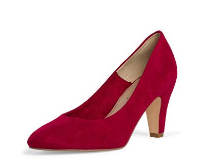 Pantofi cu toc pentru femei 1-1-22406-24-515 Lipstick