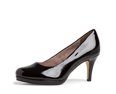 Scarpe con tacco da donna 1-1-22444-24-018 Black Patent