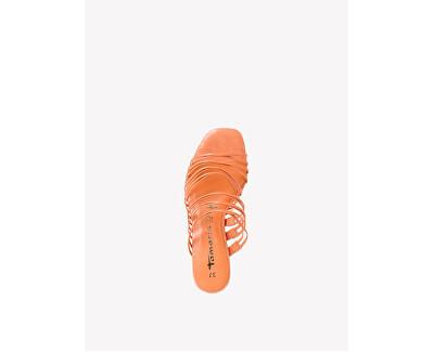 Ciabattine da donna 1-1-27234-34-673 Peach Neon