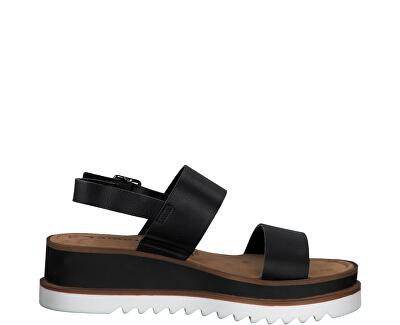 Sandali da donna 1-1-28007-24-007 Black Uni