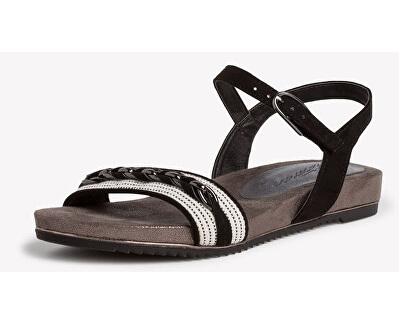 Sandali da donna 1-1-28130-24-098 Black Comb