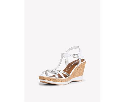 Sandali da donna 1-1-28347-24-197 White Comb