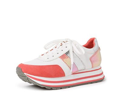 Sneakers da donna 1-1-23737-24-184 White/Orange