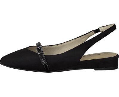 Pantofi cu toc pentru femei 1-1-29404-24-001 Black