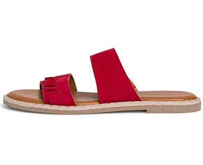 Papuci pentru femei 1-1-27105-24-500 Red