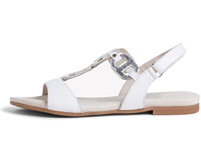 Sandale pentru femei 1-1-28163-24-191 White/Silver