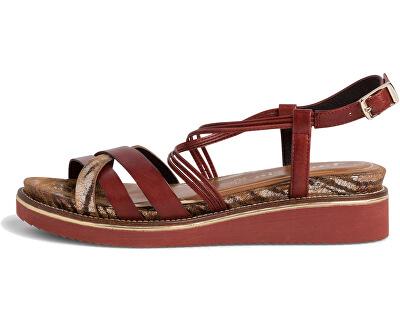 Sandale pentru femei 1-1-28207-24-540  Granata Comb.