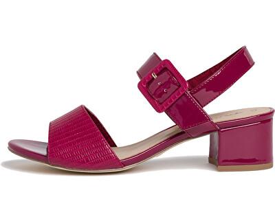 Sandali da donna 1-1-28211-24-640 Cranberry Comb