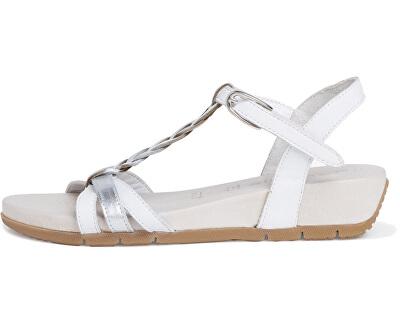 Sandale pentru femei 1-1-28251-24-181 White/Wht Met