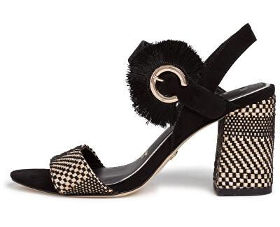 Sandali da donna 1-1-28326-24-098 Black Comb
