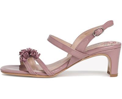 Sandali da donna 1-1-28336-24-542 Mauve Patent