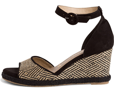 Sandali da donna 1-1-28361-24-098 Black Comb