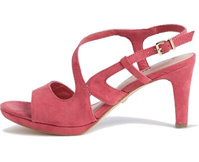 Sandale pentru femei 1-1-28376-24-585 Pale Ruby
