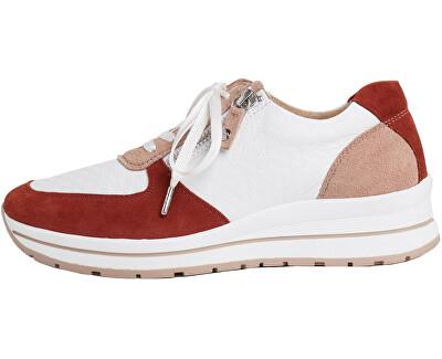 Sneakers da donna 1-1-23740-24-148 Wht/Ruby Comb