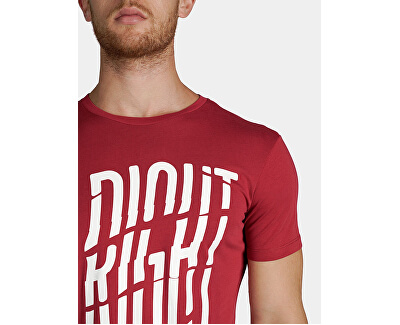 Pánske tričko Jersey Regular Fit 52T00282-R145 Lacquer