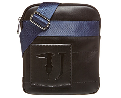 Pánska crossbody taška Tici Flat Md 71B00133-K303 Black + Blue