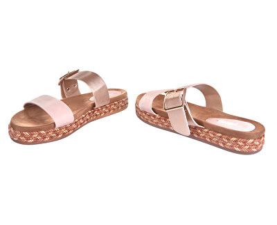 Dámské pantofle 28-3038 Nude