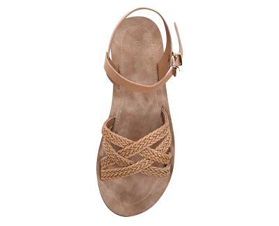 Dámské sandále 28-3021 Beige