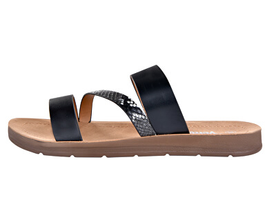 Dámské pantofle 28-2965 Black