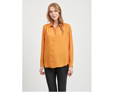 Dámska košeľa VILUCY L / S BUTTON SHIRT - Noosa Gold en Oak