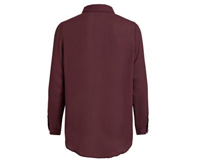 Dámska košeľa VILUCY L / S BUTTON SHIRT - Noosa Wine tasting