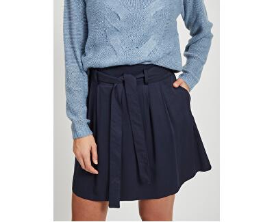 Dámská sukně VIVERO HW SHORT SKIRT/SU Navy Blazer