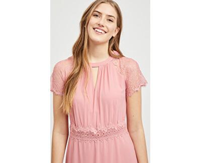 SLEVA - Dámské šaty Vifinnea 14051499 Brandied Apricot