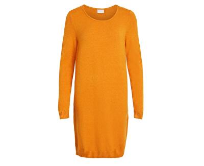 Rochie L swirled / S KNIT DRESS - noos Gold en Oak