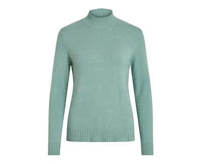 Dámský sveter VIRIL L/S TURTLENECK KNIT TOP-NOOS Oil Blue