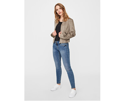 Giacca donna VMSUMMERSIV FAUX SUEDE SHORT JACKET NOOS Bungee Cord