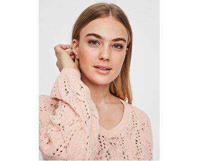 Maglione da donna VMDEYRA LS V-NECK BLOUSE Chintz Rose