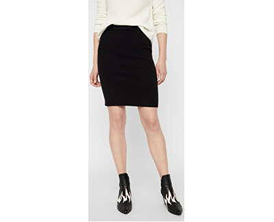 Dámska sukňa VMFRESNO PENCIL SKIRT NOOS Black
