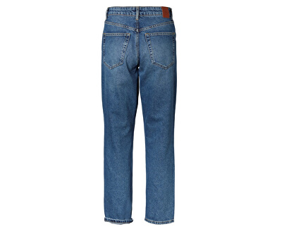 Dámské relaxed straight fit džíny VMSARA 10217406 Medium Blue Denim