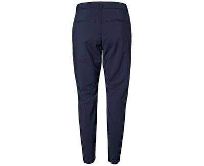 Dámske nohavice VMVICTORIA NW ANTIFIT ANKLE PANTS NOOS Navy Blazer
