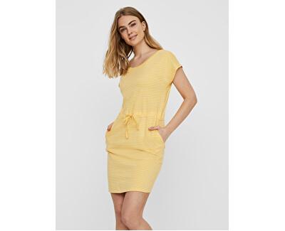 Női ruha VMAPRIL Stripes Banana Cream