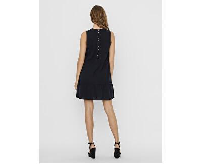 Dámské šaty VMHELENMILO SL SHORT DRESS WVN Night Sky