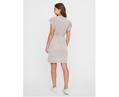 Frauen kleiden VMRAKEL 10230826 Birke Stripes : NIGHT SKY