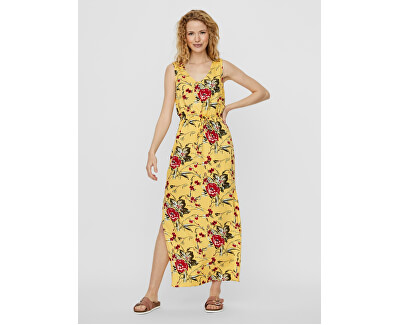 Női ruha VMSIMPLY EASY 10227830 Banana Cream TYRA