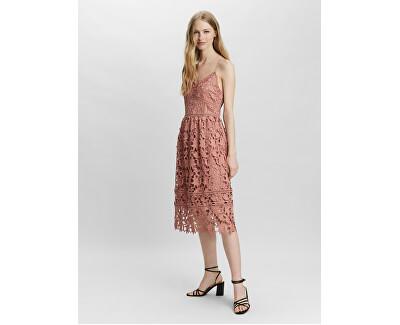 Dámské šaty VMVALERIE Slim Fit 10254325 Old Rose