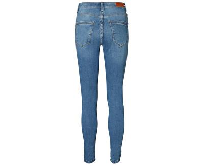 Röhrenjeans für Frauen VMSOPHIA 10193330 Medium Light Blue Denim