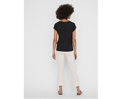 Női póló VMAVA 10231343 Black