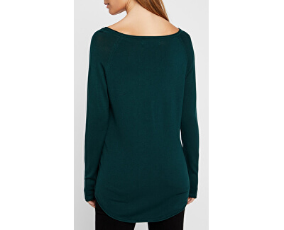 Dámsky sveter VMNELLIE GLORY LS LONG Blouse COLOR Ponderosa Pine