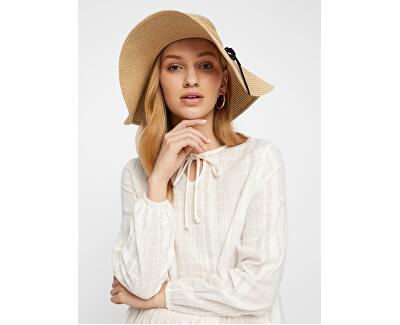 Dámský klobouk VMVENES STRAW HAT Oatmeal