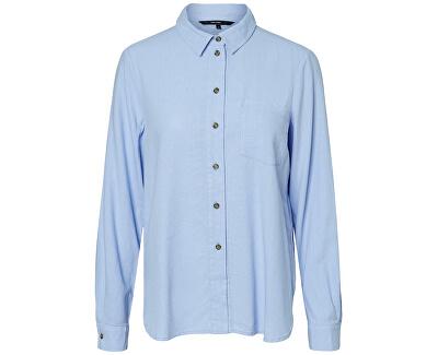 Dámská košile VMHELENMILO LS SHIRT WVN Placid Blue