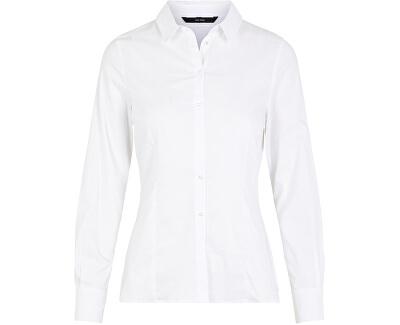 Dámska košeľa VMLIVA LS SHIRT GA NOOS Bright White