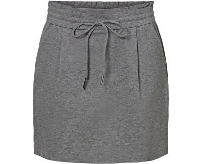 Dámská sukně VMEVA 10225936 Medium Grey Melange